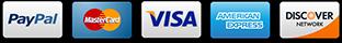 Zahlung über/via PayPal, Lastschrift oder Kreditkarte