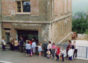 Ansicht Bäckerei Vieweger Grünhainichen im Jahr 1987