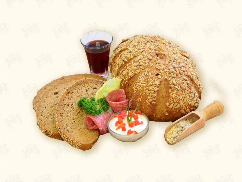 Brot ohne kohlenhydrate beim bäcker