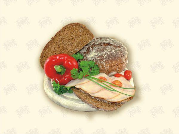 Brot aus Gerstenvollkorn