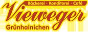 Logo Bäckerei Vieweger - weiss