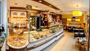 Filiale Drebach Ladenansicht - Bäckerei, Konditorei und Cafe Vieweger