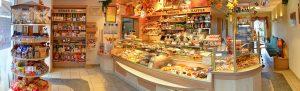 Hauptgeschäft Grünhainichen Ladenansicht - Bäckerei, Konditorei und Cafe Vieweger