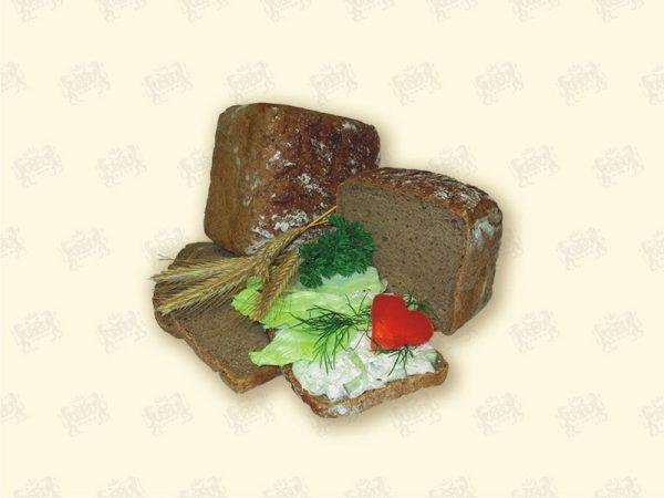 Roggenkastenbrot - vegan, vegetarisch, lactosefrei