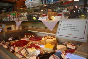 Ansicht Kuchenangebot - Hauptgeschäft - Bäckerei Vieweger - Grünhainichen