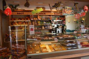 Ansicht Ladentheke - Hauptgeschäft - Bäckerei Vieweger - Grünhainichen