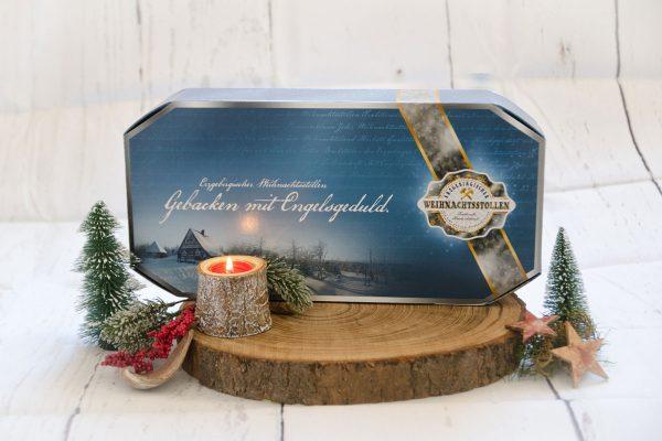 Großer Stollenkarton des Stollenverbandes Erzgebirge