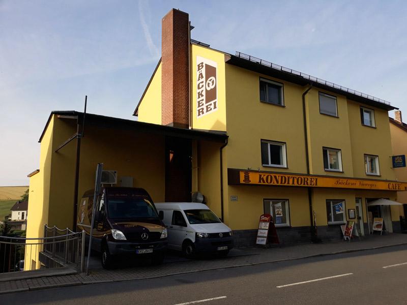 Bäckerei Vieweger - Malerarbeiten Aussenansicht 2018