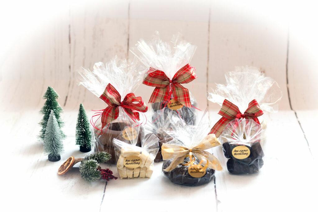 Baumkuchen - Sortiment verpackt Weihnachten - freistehend