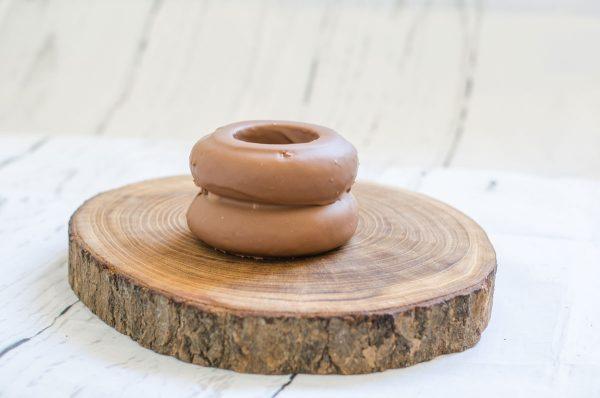 Baumkuchen mit Vollmilch Kuvertüre - 2 Ringe