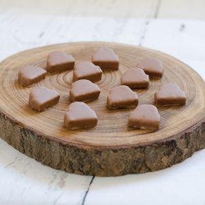 Baumkuchenecken mit Vollmilch Kuvertüre