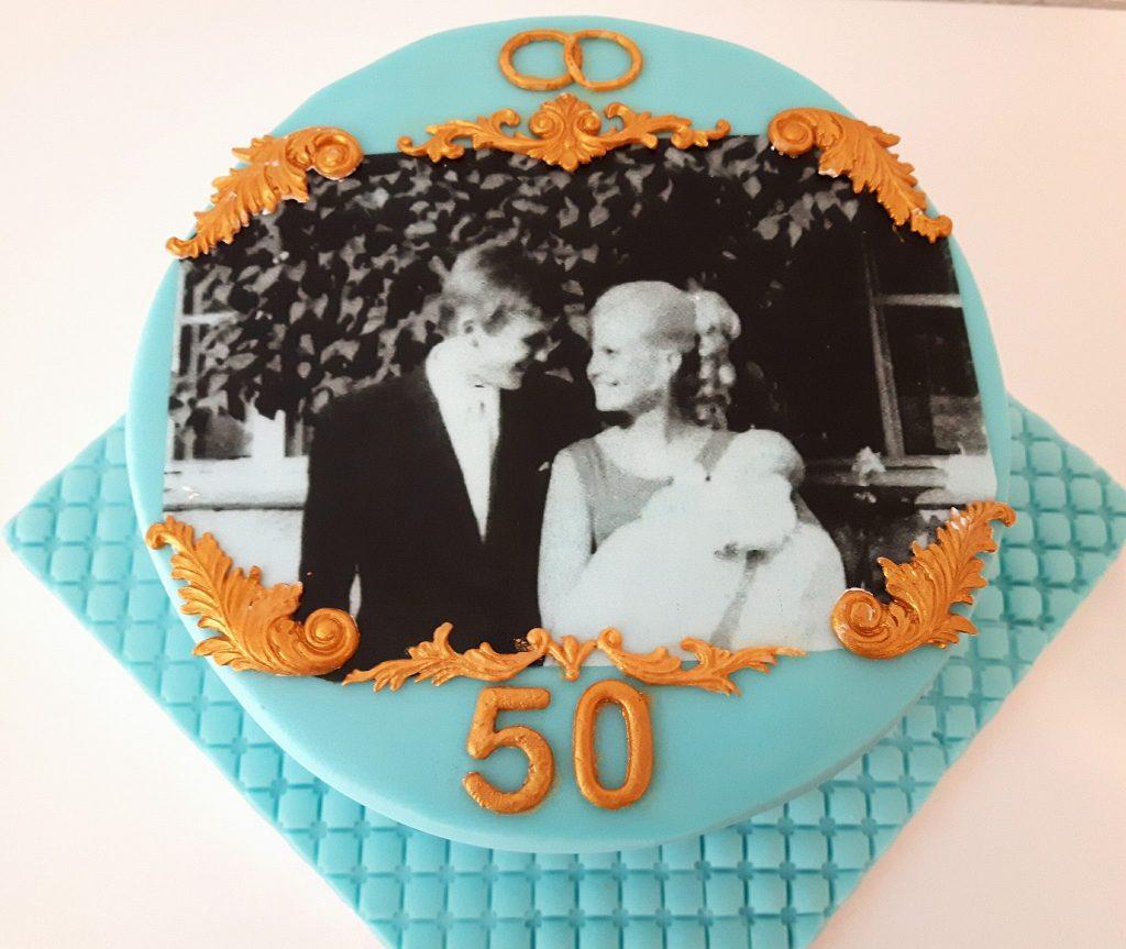 Thementorte von Einzelstücke - 50 Hochzeitstorte