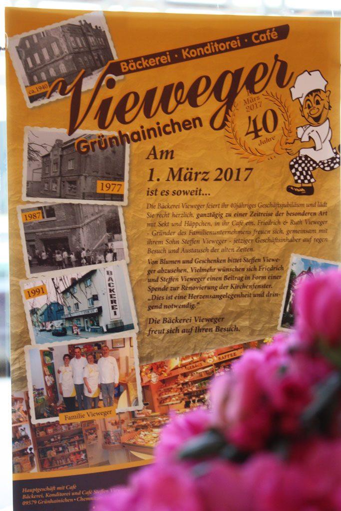 Jubiläum zum 40. Plakat