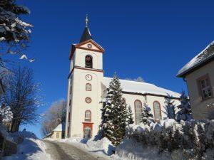 Spende für Fenster der Kirche in Grünhainichen