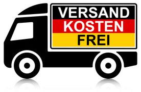 Versandkostenfrei innerhalb Deutschland